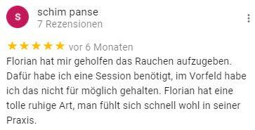 Nichtraucher Hypnose Florian Günther