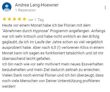 Abnehmen mit Hypnose Berlin Florian Günther