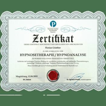 Berlin Hypnose Florian Günther