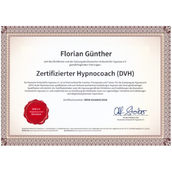 Florian Günther Berlin hypnose